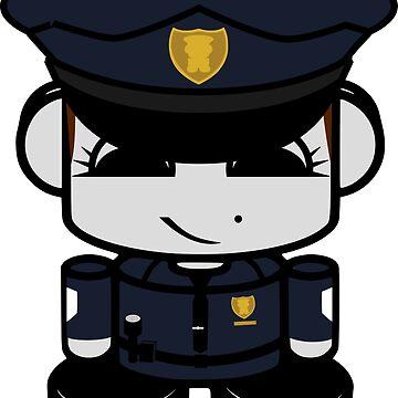 HERO'BOT Officer Opal Prime by carbonfibreme