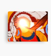illumination in colour. Canvas Print