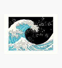 Kanagawa Wave Art Print