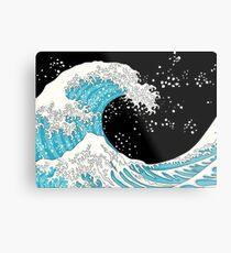 Kanagawa Wave Metal Print