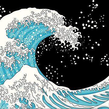 Kanagawa Wave by XOOXOO