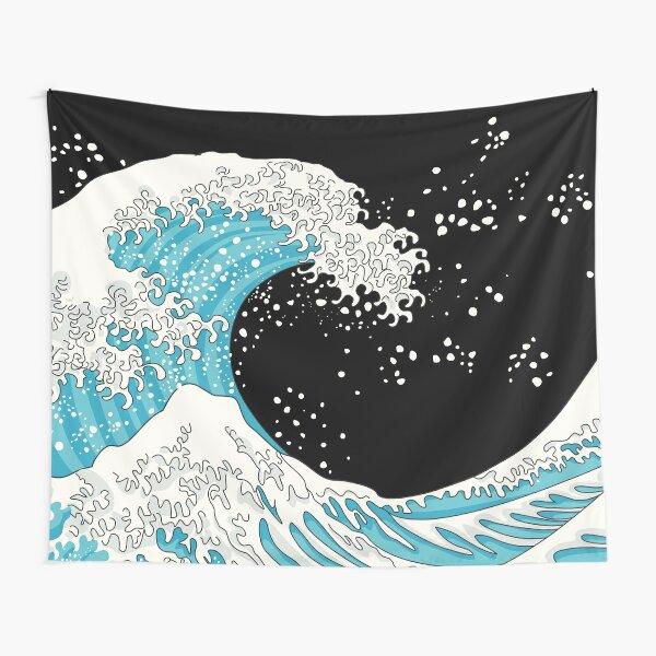 Kanagawa Wave Tapestry
