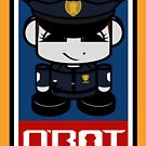 Police HERO'BOT Toy Robot 2.1 by Carbon-Fibre Media