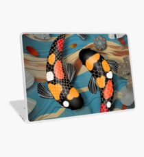 Koi Watergarden Laptop Skin