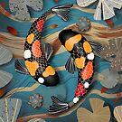 Koi Watergarden by © Karin Taylor