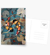 Koi Watergarden Postkarten