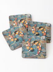 Koi Watergarden Coasters