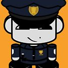 Police HERO'BOT Toy Robot 1.0 by Carbon-Fibre Media