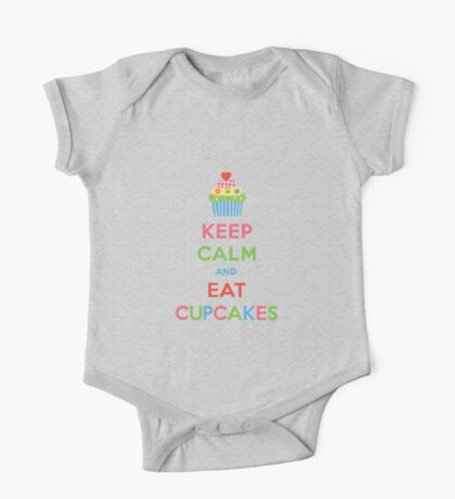 Keep Calm and Eat Cupcakes 5  Kids Clothes