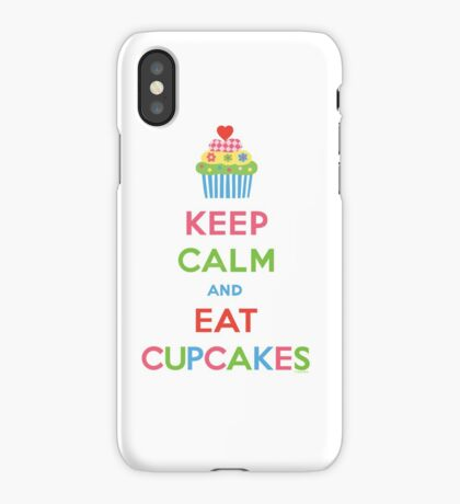 Keep Calm and Eat Cupcakes 5  iPhone Case