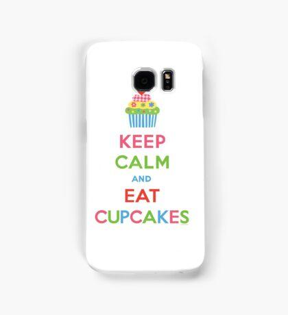 Keep Calm and Eat Cupcakes 5  Samsung Galaxy Case/Skin
