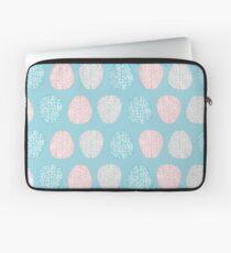 Brainy Pastel Pattern (Awesome Pastel Brains) Laptop Sleeve