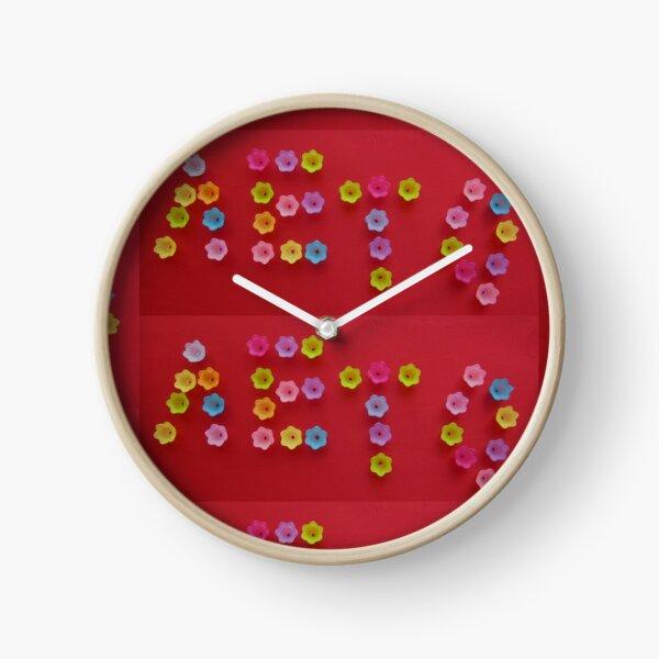 Лето Leto Summer Clock