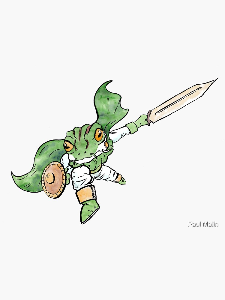 «Frog from Chrono Trigger» par Kite4