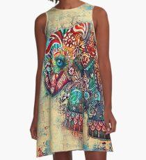 Vintage Elephant A-Line Dress