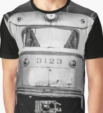 Vintage Streetcar Trolley 1219 Graphic T-Shirt