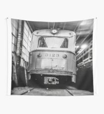 Vintage Streetcar Trolley 1219 Wall Tapestry