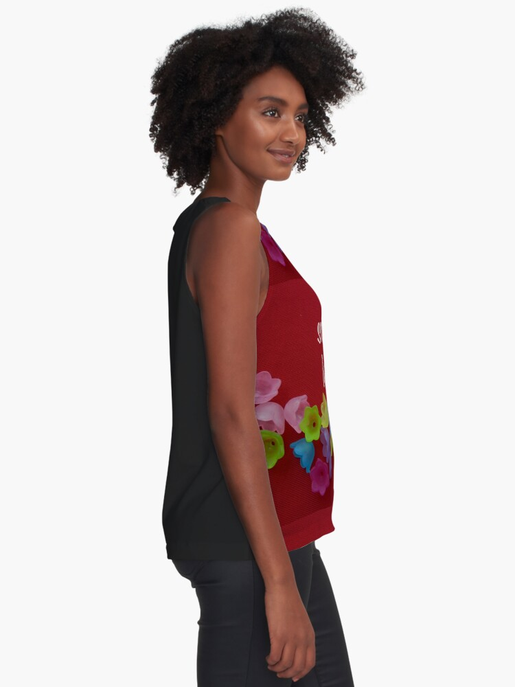 Alternate view of Smile is loading Sleeveless Top