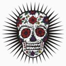 Sugar Skull two by Andi Bird