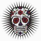 Sugar Skull two by Andi Bird