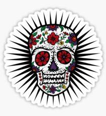 Sugar Skull two Sticker