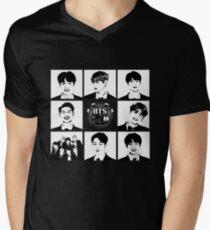 BTS Members  Men's V-Neck T-Shirt
