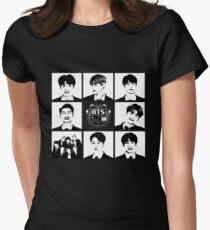 BTS Members  Women's Fitted T-Shirt