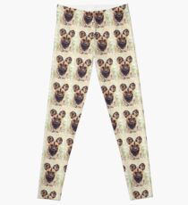 Afrikanischer wilder Hund Leggings