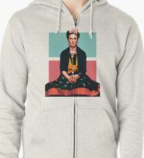 Frida Kahlo Vogue Zipped Hoodie