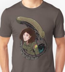 Ripley and the Alien. Unisex T-Shirt