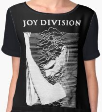 Joy Division Ian Curtis Singing Chiffon Top