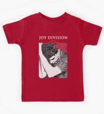 Joy Division Ian Curtis Singing Kids Tee