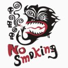 No Smoking - monster by Andi Bird