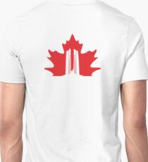 Vimy Monument Maple Unisex T-Shirt