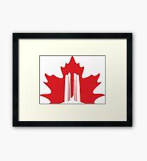 Vimy Monument Maple Framed Print