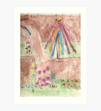 princess butterfly Art Print