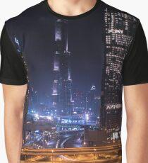 Downtown Dubai Graphic T-Shirt