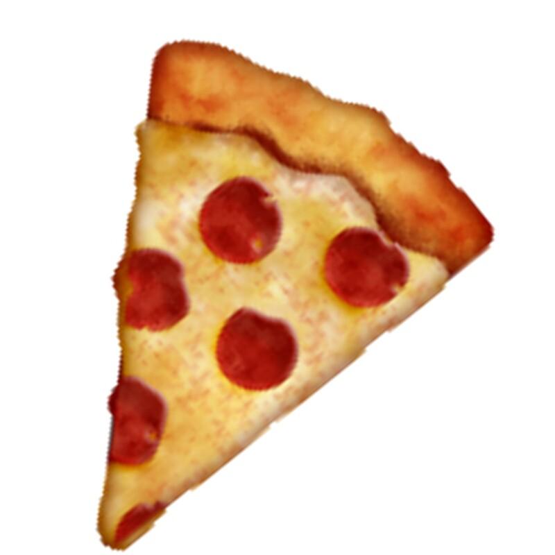 pizza emoji canvas prints by alessiapaps redbubble