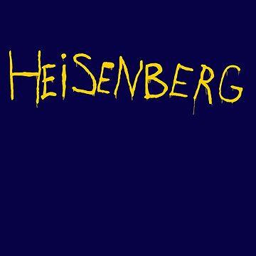 My name is Heisenberg - Graffiti Breaking Bad by ptelling