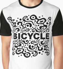 Ride a Bicycle - funky Graphic T-Shirt
