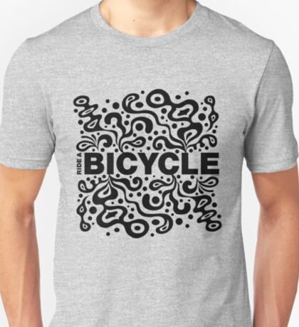 Ride a Bicycle - funky T-Shirt