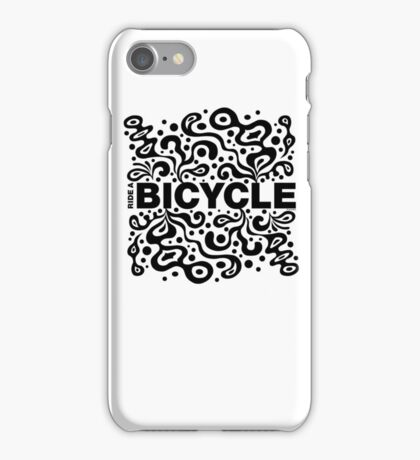 Ride a Bicycle - funky iPhone Case/Skin