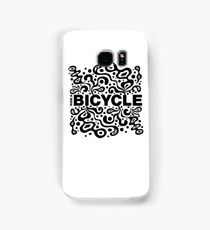 Ride a Bicycle - funky Samsung Galaxy Case/Skin
