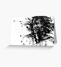 """""""The Burden"""" by Agnes-Cecile for Arte Cluster Greeting Card"""