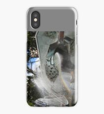 Newcastle (NSW) - Civic Fountain Rainbow iPhone Case/Skin