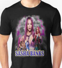 sasha banks Unisex T-Shirt