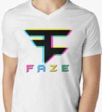 Faze Clan 3D Mens V-Neck T-Shirt