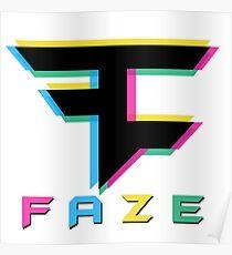 Faze Clan 3D Poster