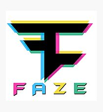 Faze Clan 3D Photographic Print