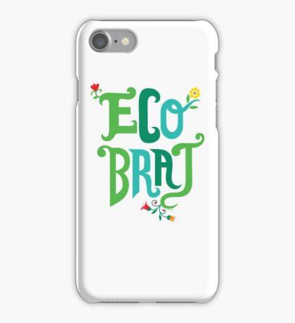 Eco Brat iPhone Case/Skin